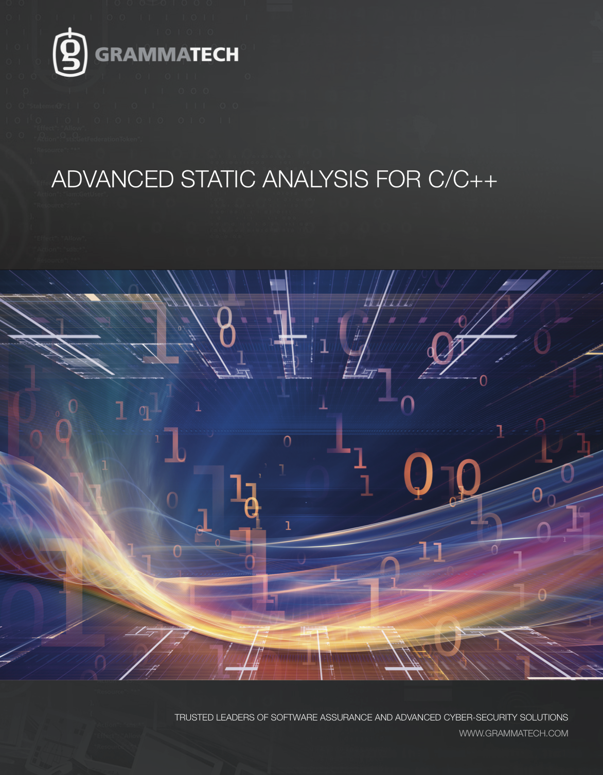 CodeSonar: Advanced Static Analysis for C++